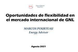 Oportunidades de flexibilidad en el mercado internacional de GNL