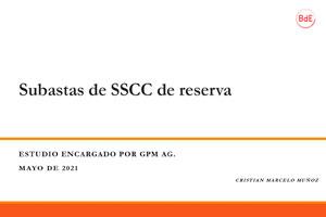 Subastas de SSCC de Reserva